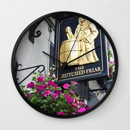 The Crutched Friar pub London Wall Clock