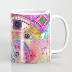 colorful words of a poem Coffee Mug