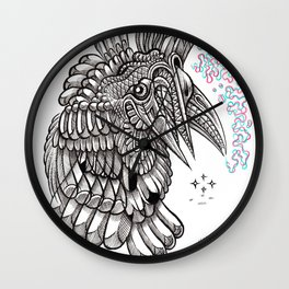 Fright 2 Wall Clock