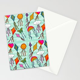 Kites Print Stationery Cards