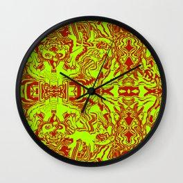 Christmas Face Wall Clock
