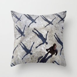 Absolution Muse Throw Pillow