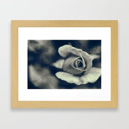 Then Framed Art Print