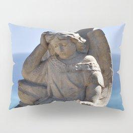 Italian Angel with Cross Pillow Sham