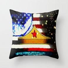 Amazon Crown - 029 Throw Pillow
