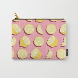 Lemon Pattern 07 Carry-All Pouch