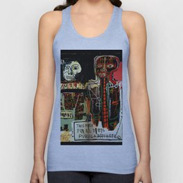Jean-Michel Basquiat - Notary 1983 Unisex Tank Top