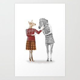 She & She Art Print