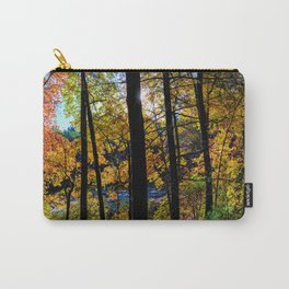 Walden Pond Autumn Forest  in Concord Massachusetts Carry-All Pouch
