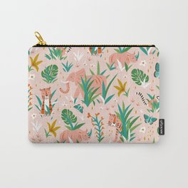 Endangered Wilderness - Blush Pink Carry-All Pouch