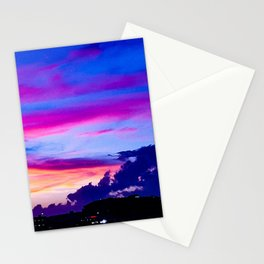 Hampton Sunset Stationery Cards