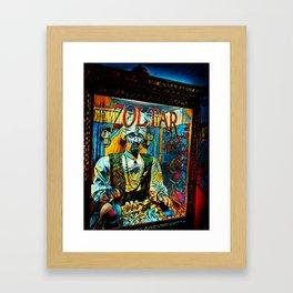 Zoltar Speaks Design By Jameson Bondd Framed Art Print