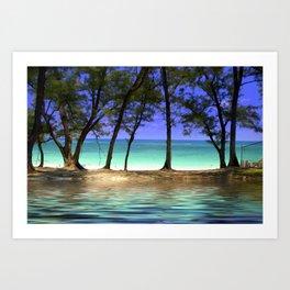 Paradise - Paradise Island, Bahamas Art Print