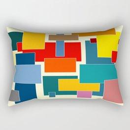 Van Doesburg No. 2 Rectangular Pillow