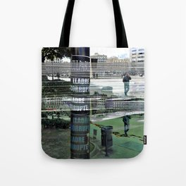 "Sunday 10 March 2013: ""...all the colo(u)rs bleed..."" Tote Bag"