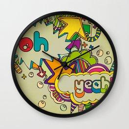 Yeah Yeah! Wall Clock