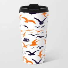 All they want to do is slay! Metal Travel Mug