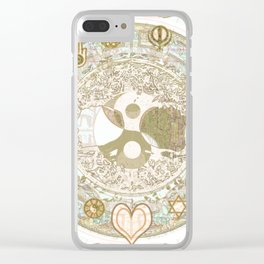 Let Love Be the Foundation Clear iPhone Case