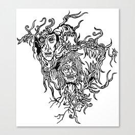 Melancholic Canvas Print