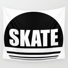 Skate the circle Wall Tapestry