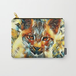 AnimalArt_Cougar_20170601_by_JAMColorsSpecial Carry-All Pouch