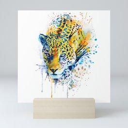 Lurking Leopard Mini Art Print