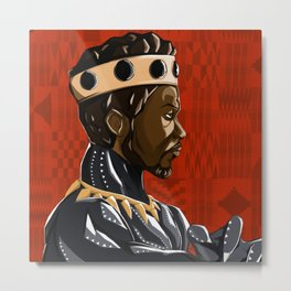 Long Live the King Metal Print