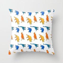 Dinosaur Dinosaur! Throw Pillow
