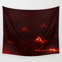 army Wall Tapestries featuring The army of light by Lord Egon Will