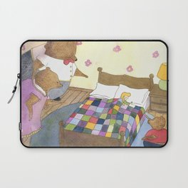 Goldilocks Caught Sleeping Laptop Sleeve