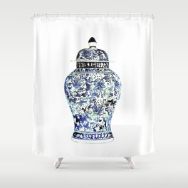 GINGER JAR NO.6 Shower Curtain
