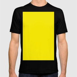 Canary yellow T-shirt