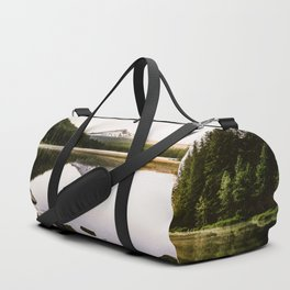 Fantastic Morning - Mount Hood Reflection Duffle Bag