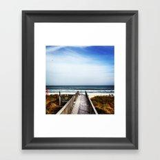Ponte Vedra Beach Framed Art Print