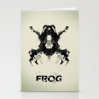 frog Stationery Cards featuring FROG by Alex Chen