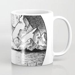 Moonlit Alaska Coffee Mug