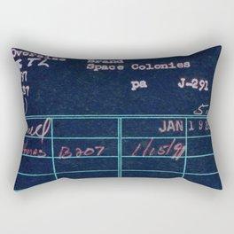 Library Card 797 Negative Rectangular Pillow