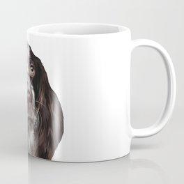 English Springer Spaniel - Puppy Dog Digital Art Illustration Coffee Mug