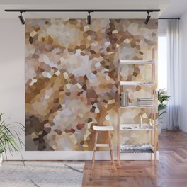 Swimming in Gold Wall Mural