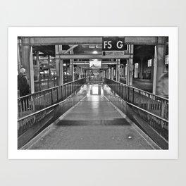 Old San Francisco Transbay Terminal Art Print