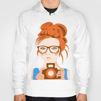 photographer Hoodies featuring Photographer by KylaArt