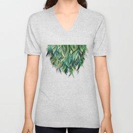 """""""Spring Forest of Surreal Leaf"""" Unisex V-Neck"""