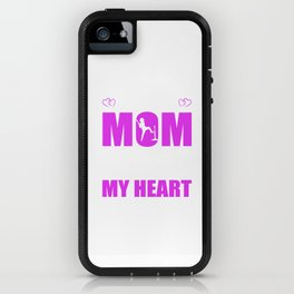Tee Ball Moms Full Heart Mothers Day T-Shirt iPhone Case