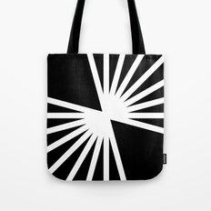 B/W Blast Tote Bag