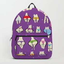 UNDERPANTS Purple Backpack