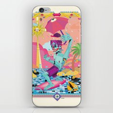 surfeur iPhone & iPod Skin