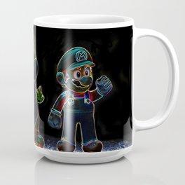 Luigi, Yoschi and Mario Coffee Mug