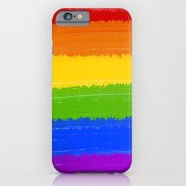 Rainbow Pride Flag iPhone Case