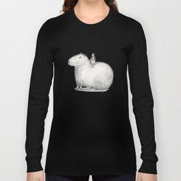 I LOVE CAPYBARA Long Sleeve T-shirt