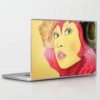 superheroes Laptop & iPad Skins featuring Superheroes SF by Vasco Vicente